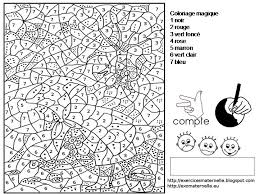 93 best coloriages magiques images on pinterest color by numbers