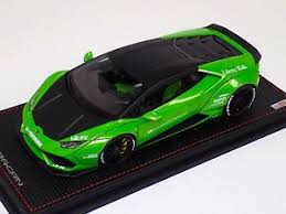 lamborghini green and black 1 18 mr collection lamborghini huracan coupe green black liberty