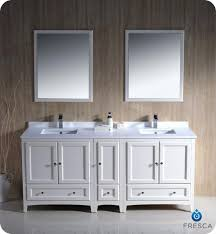 double sink vanity with middle tower the fresca oxford 72 double sink bathroom vanity antique white