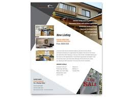 real estate brochures and flyers contemporary modern real estate