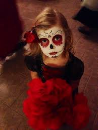 sugar skull kids makeup halloween fall pinterest sugar