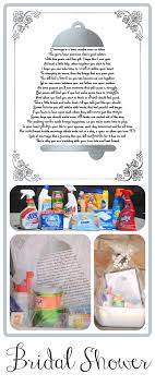 baby shower gift basket poem wedding shower cleaning gift basket with printable poem redo