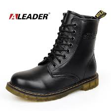 waterproof motorcycle shoes aliexpress com buy womens autumn leather ankle drboots new 2016