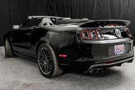 Black Gt Mustang Usedengines 2014 Ford Mustang Shelby Gt500 Convertible Black On