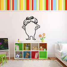 dr seuss character the lorax childrens book character vinyl wall loading zoom
