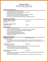 11 examples of good resumes precis format
