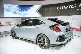 Honda Prelude New 2017 Honda Civic Hatchback Prototype Revealed In New York