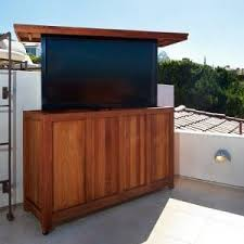 scenic roof deck even better with pop up tv av products we love