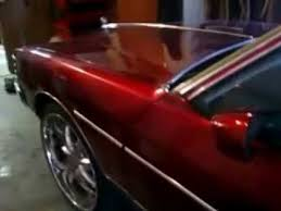 house of color candy red brandywine car paint job youtube