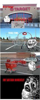 Shopping Cart Meme - troll shopping cart return by lanfer meme center