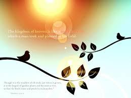 matthew 13 31 32 the kingdom of heaven is like a mustard seed