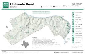 Map Of Colorado State by Colorado Bend State Park Map U2013 Gislibrarian Com