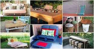 Easy Diy Patio Furniture by Diy Backyard Furniture Ideas U2013 Creative Ideas To Decorate Your