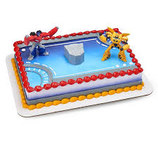 transformers birthday cake transformers publix