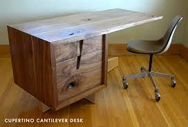 Studio Work Desk J Rusten Furniture Studio Cupertino Cantilever Desk