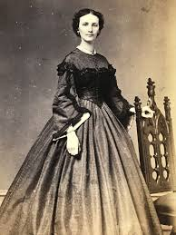 ny dress utica ny beautiful woman in dress w j baker 1860 s civil war era