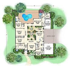 villa house plans best 25 interior courtyard house plans ideas on
