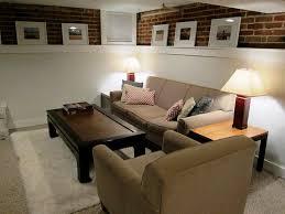 Basement Living Room Ideas by Terrific Small Basement Room Ideas Cheap Basement Decorating Ideas