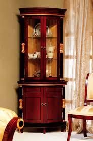 corner curio cabinets for sale elegant corner curio cabinet victorian cherry pulaski home gallery