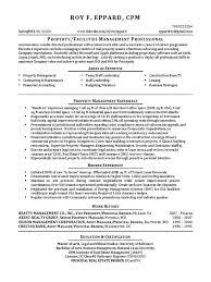 Construction Vice President Resume Vp Property Management Real Estate In Washington Dc Resume Roy