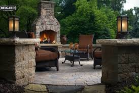 Belgard Brighton Fireplace by Tricounty Outdoors