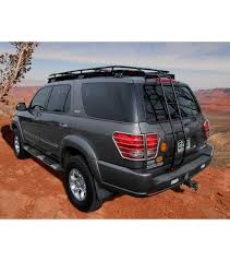 toyota sequoia 01 07 stealth rack multi light setup with