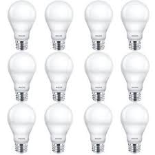 60w led light bulb philips dimmable efficient 9w 3000k a19 white 60w led light bulb 12