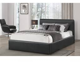 Ottoman Faux Leather Bed Birlea Ottoman 4ft Small Black Faux Leather Bed Frame By Birlea