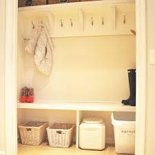 how to create a mudroom from a closet hometalk