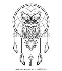 owl tattoo stock photos images u0026 pictures coloring pages