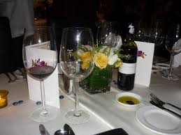 Fine Dining Table Set Up by The Wine And The Table Setting Leikhong U0027s Blog