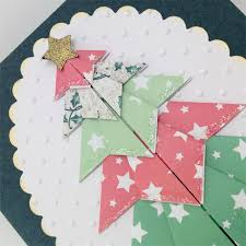 origami christmas cards christmas lights card and decore