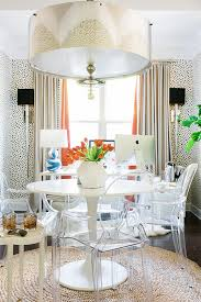Lucite Dining Room Chairs A Designer Trick Revealed Here U0027s Why We Love Using Lucite