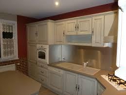 relooker cuisine en chene cuisine en chene meuble cuisine en chene peinture meuble