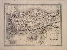 map asie asie mineure ancienne ancient asia minor