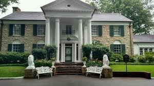 Elvis Presley Home by Graceland Memphis Tennessee Homestead Of Elvis Presley All The