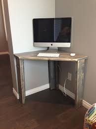computer desk ideas for small spaces simple living antique white wood corner computer desk apartment