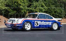 rothmans porsche 911 exclusive and historic porsches on offer at the pebble