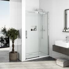 1200mm Shower Door Mode Elite 10mm Frameless Sliding Shower Door 1200mm