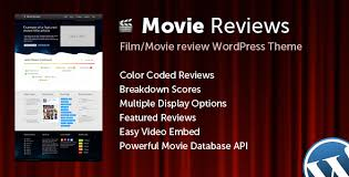 movie reviews templates from themeforest