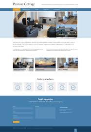 website homepage design holiday cottage website design bristol wordpress cms