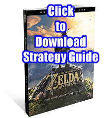 the legend of zelda breath of the wild free strategy guide pdf