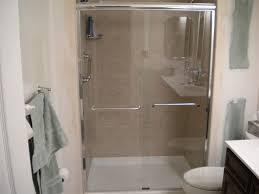 Bathroom Shower Stall Kits Corner Shower Stall Kits Regarding Discount Stalls