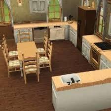 sims 3 cuisine sims 3 téléchargement maison bois bois bois