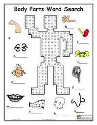 esl printable body parts worksheets education pinterest