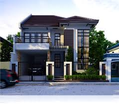 Bungalow House Design With Terrace Bedroom Glamorous House Terrace And Balcony Stock Illustration