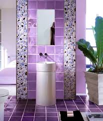 accessories enchanting purple bathroom floor tiles marble tile