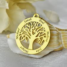 personalized family tree necklace family tree necklace all collections of necklace