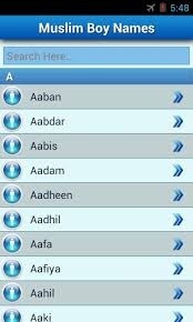 muslim apk muslim baby names and meaning apk for android