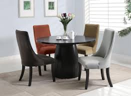 Dining Room Tables Modern Round Glass Dining Room Table Provisionsdining Com